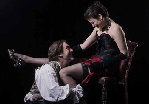 A promo shot for The Country Wife (Ensemble Theatre Company)