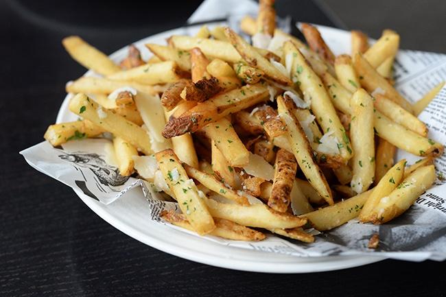 Seawall bar grill truffle fries