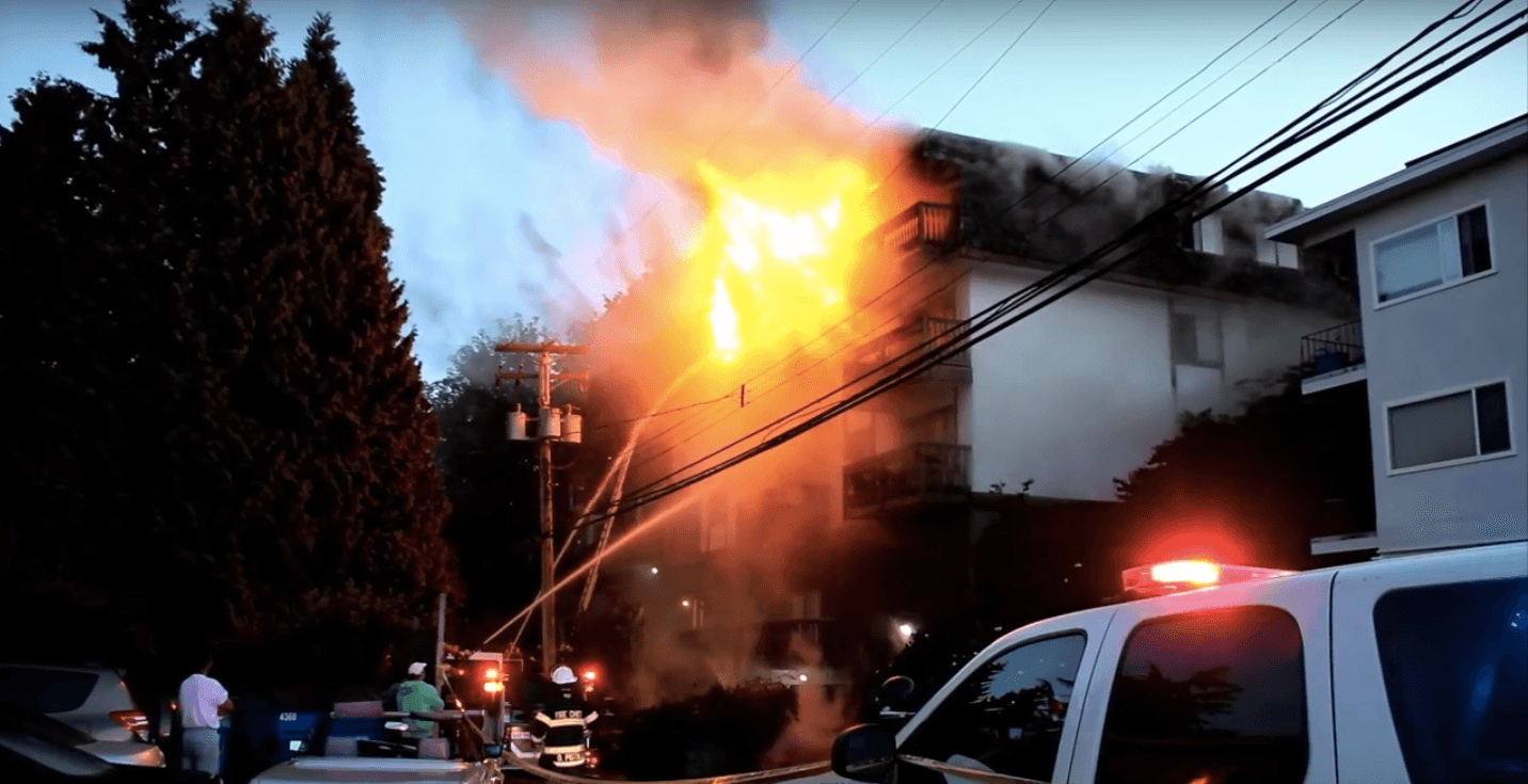 Man confirmed dead after North Vancouver apartment fire