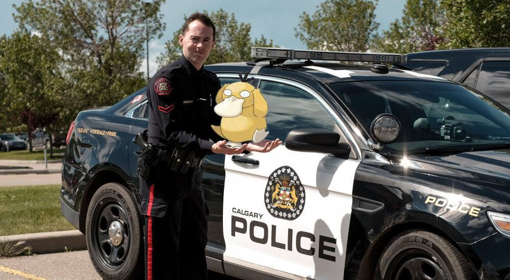 Pokémon GO advice issued by Calgary Police