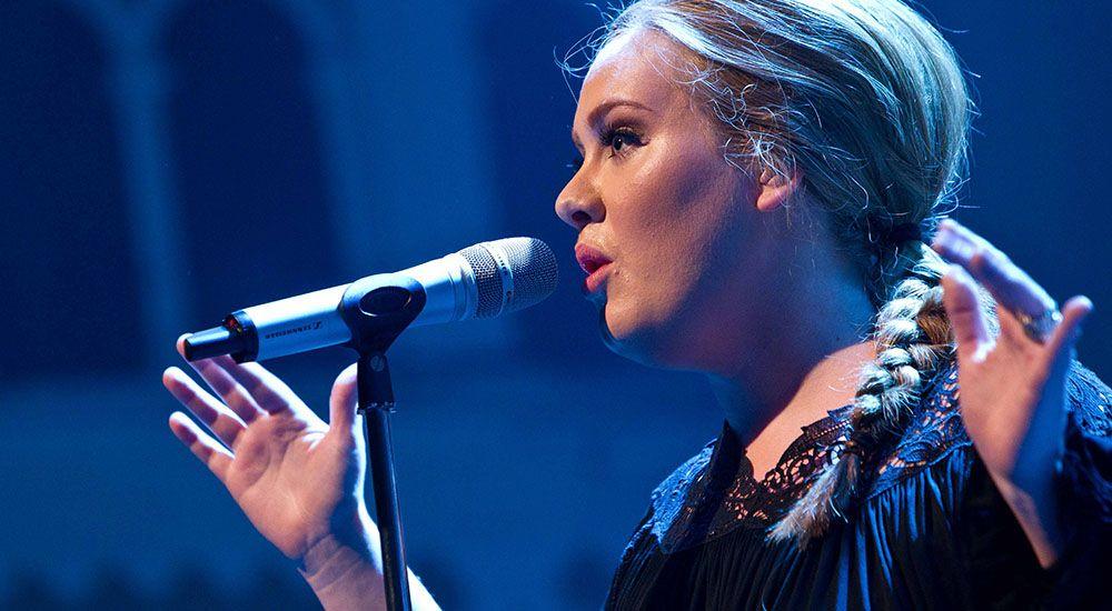 Adele in concert ben houdijkflickr