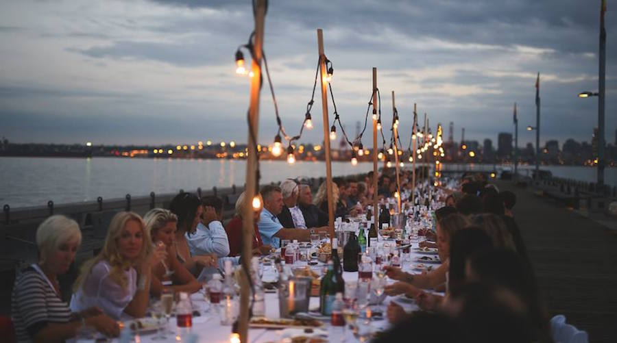 Dinner on the pier vancouver 20151