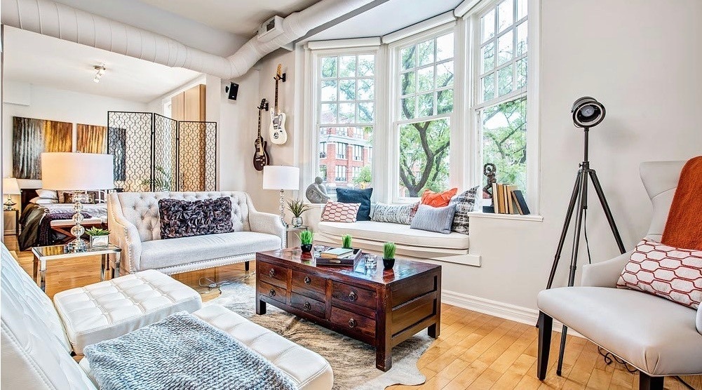 Open House  Charming Loft In A Boutique Building In Little Italy