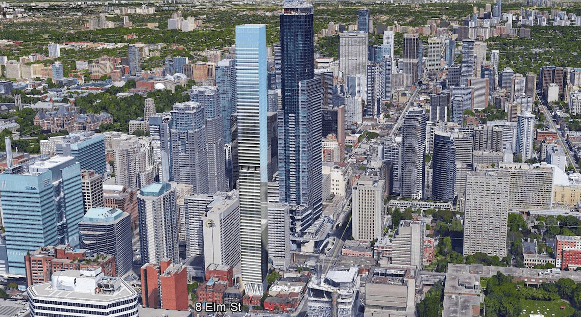 Slender 80-storey residential tower proposed for Toronto