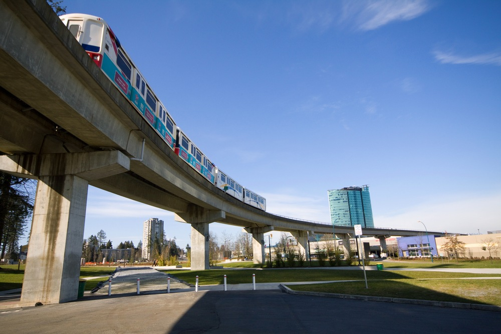 SkyTrain delayed after passenger on scooter falls on tracks