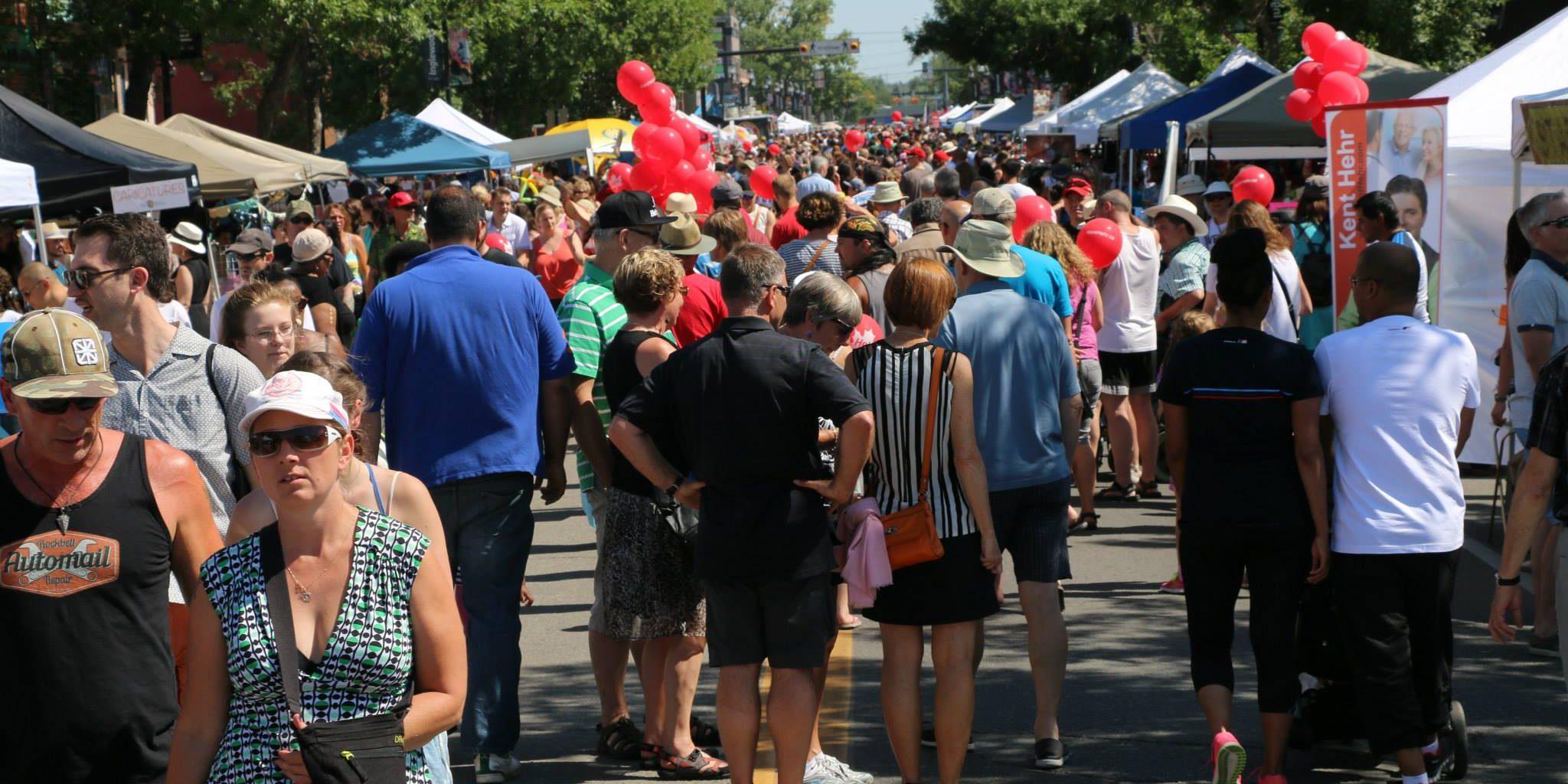Inglewood Sunfest street party returns to Calgary
