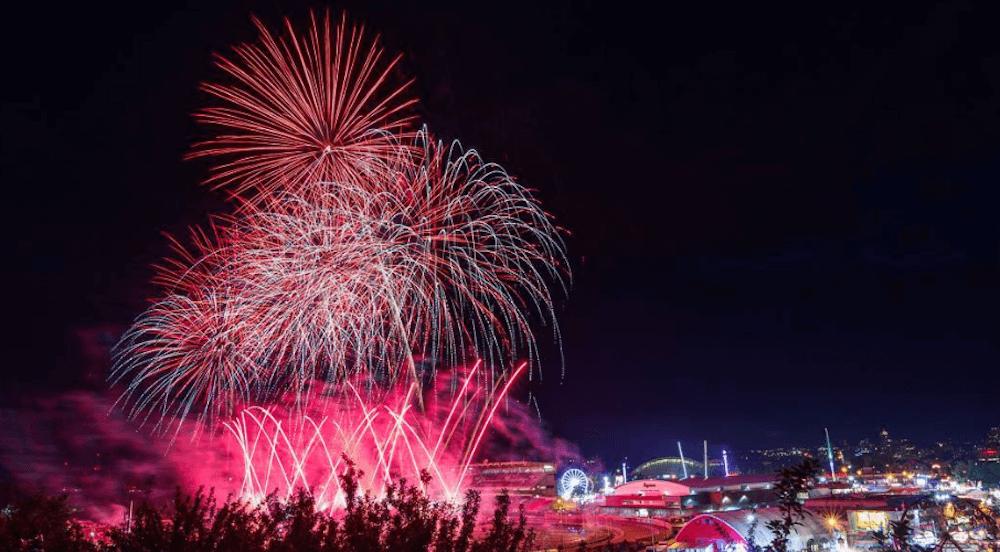 19 Mesmerizing Photos Of Calgary Stampede Fireworks
