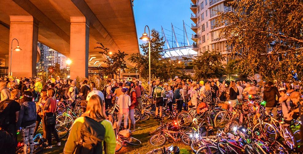 Bike the Night 2016: HUB brings bike rave-like event back to Vancouver