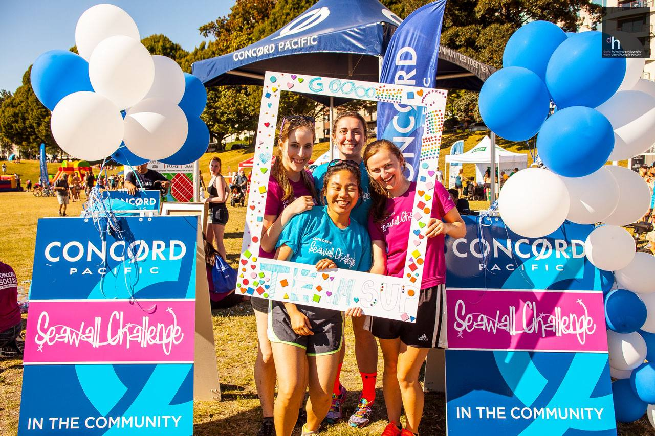 The Concord Pacific Seawall Challenge (Florence Leung/Facebook)