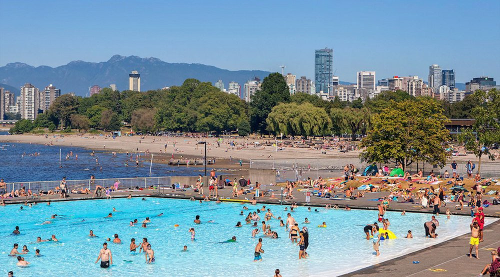 Kits Pool is staying open an extra week despite the miserable weather