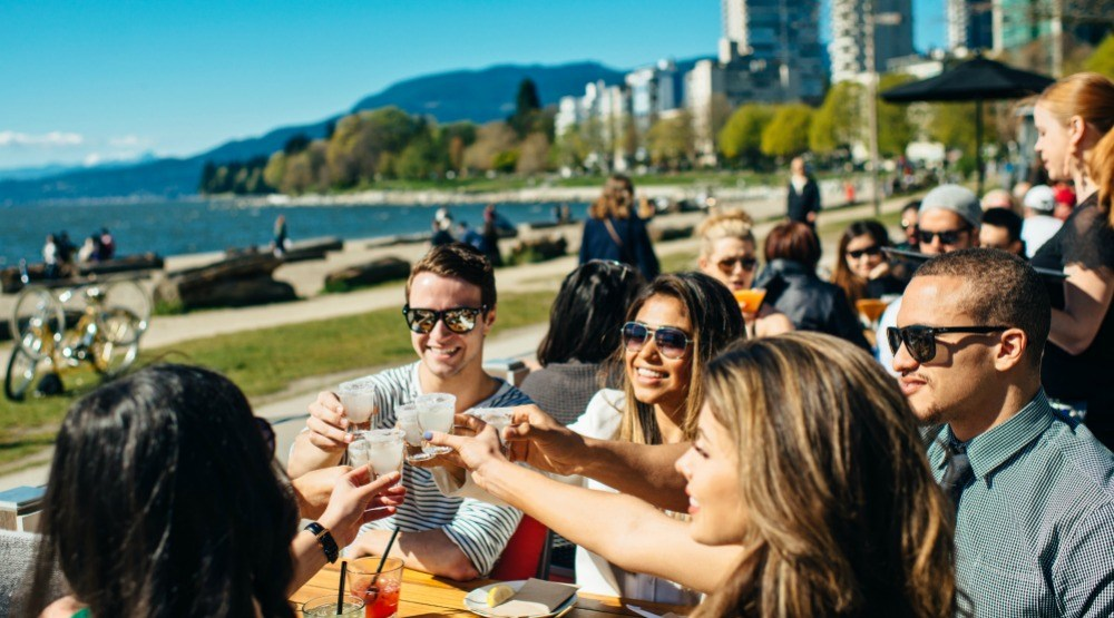 The ultimate map of over 200 restaurant patios in Vancouver