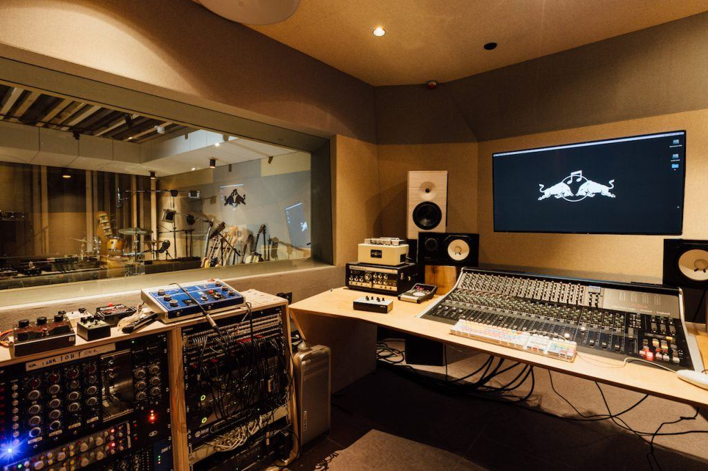 Live Recording Studio at the Red Bull Music Academy in Paris, 2015