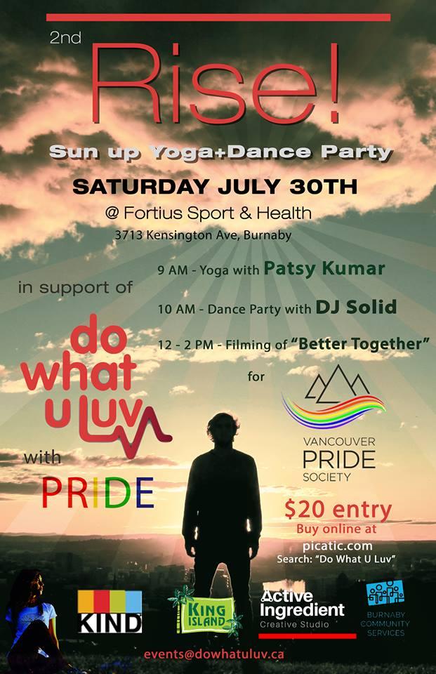 Rise Yoga / Dance Party