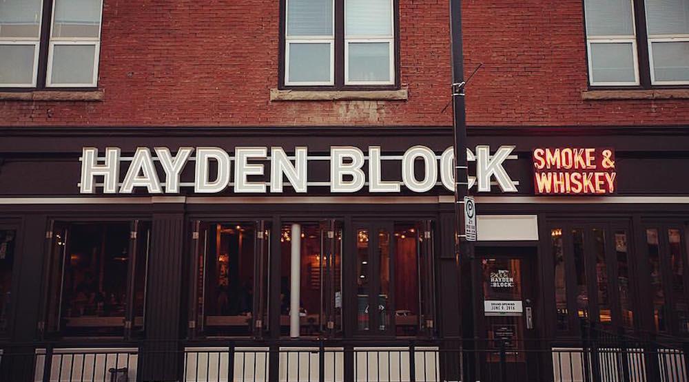 Hayden block smoke whiskey yyc