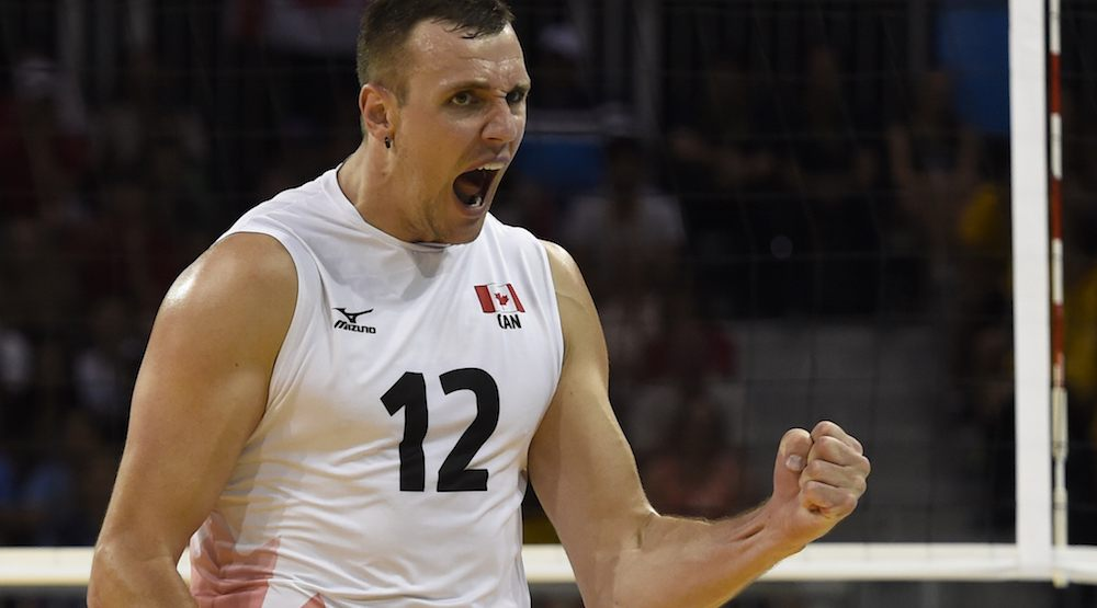 Canada upsets USA in men's volleyball