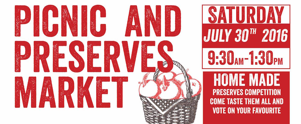 Sunnyside farmers market poster
