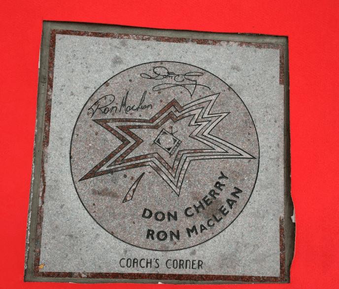Don Cherry Ron MacLean