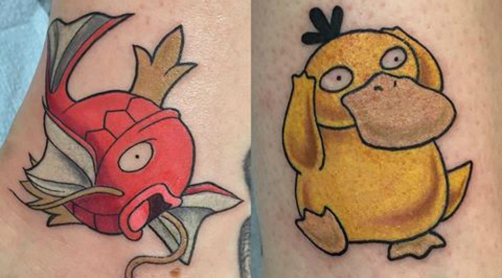 You can get a Pokémon Go tattoo in Montreal for as low as $50