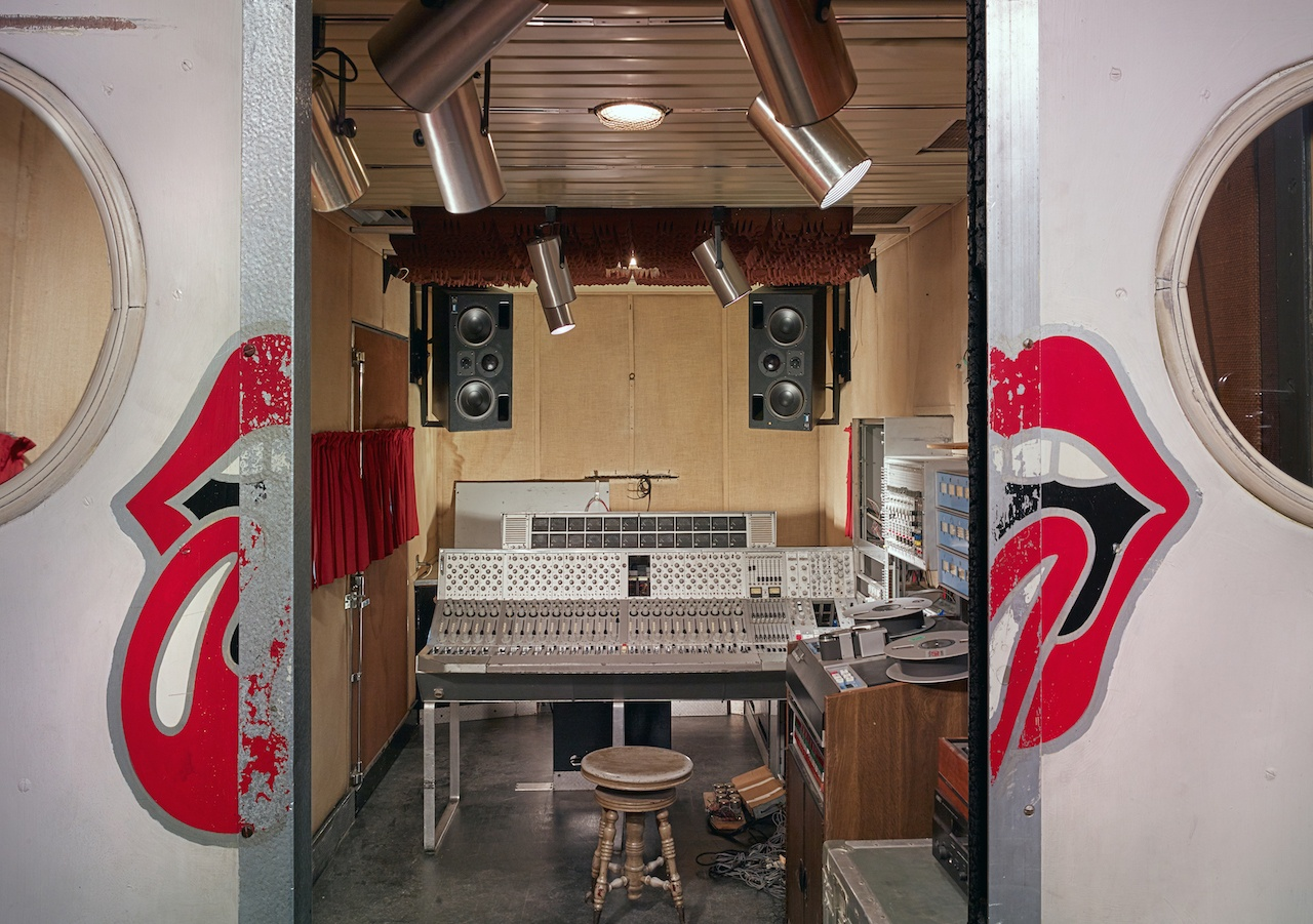 The rolling stones mobile studio will be on permanent display when studio bell opens credit colin smith