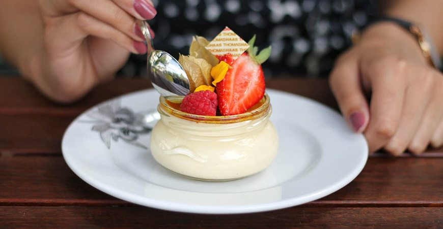 Where to find delectable crème brûlée in Vancouver