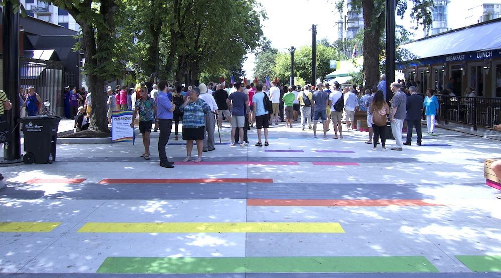 $2.3-million plaza celebrating LGBTQ community opens in Davie Village