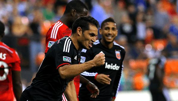 Where in the world is Whitecaps striker Fabián Espíndola?