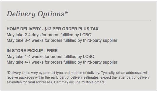 LCBO online store open