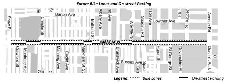 Bloor Street Bike Lane
