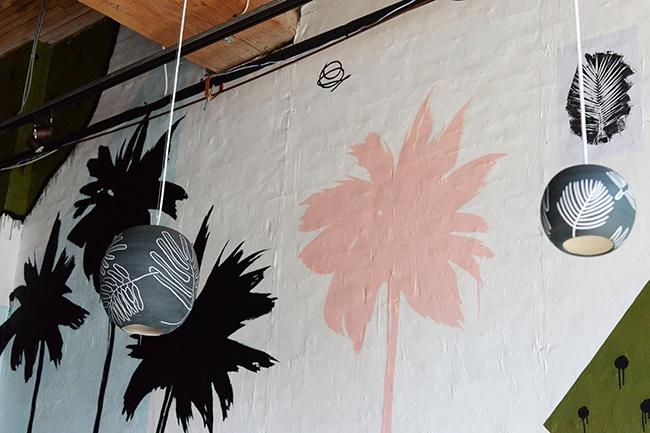 Tacofino yaletown vancouver lights mural