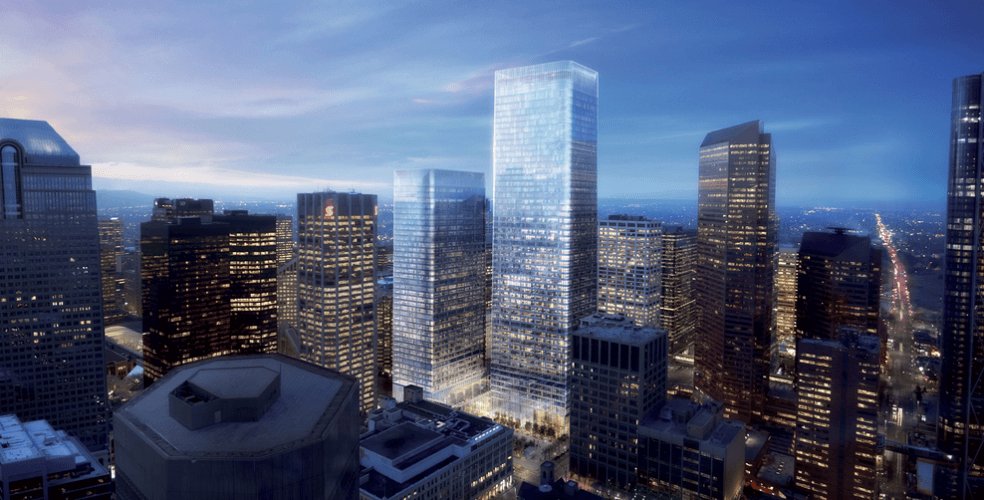 10 of the tallest buildings currently under construction in Calgary