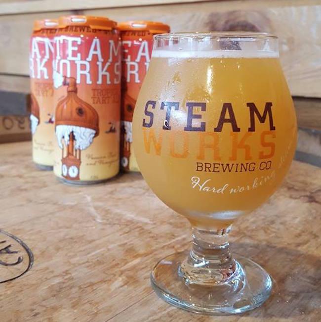 Steamworks Beer/Facebook