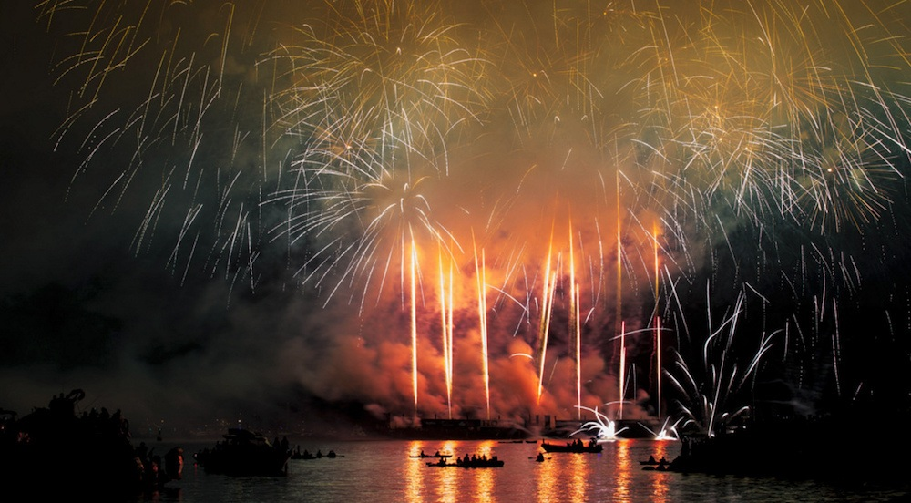 Celebration of light fireworks vancouver english bay