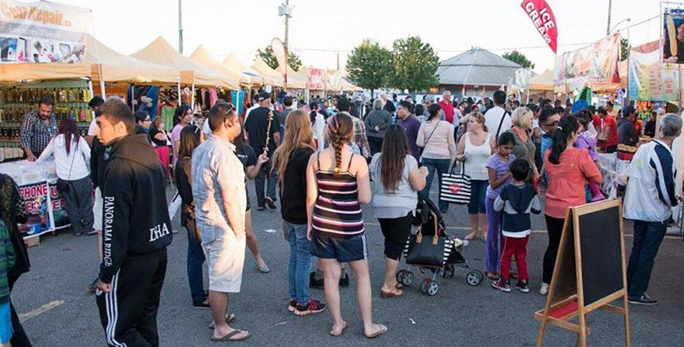 Surrey night market vancouver fb