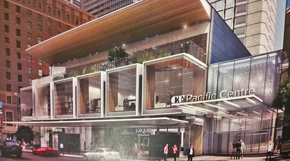 3-storey mall expansion could replace Pacific Centre dome