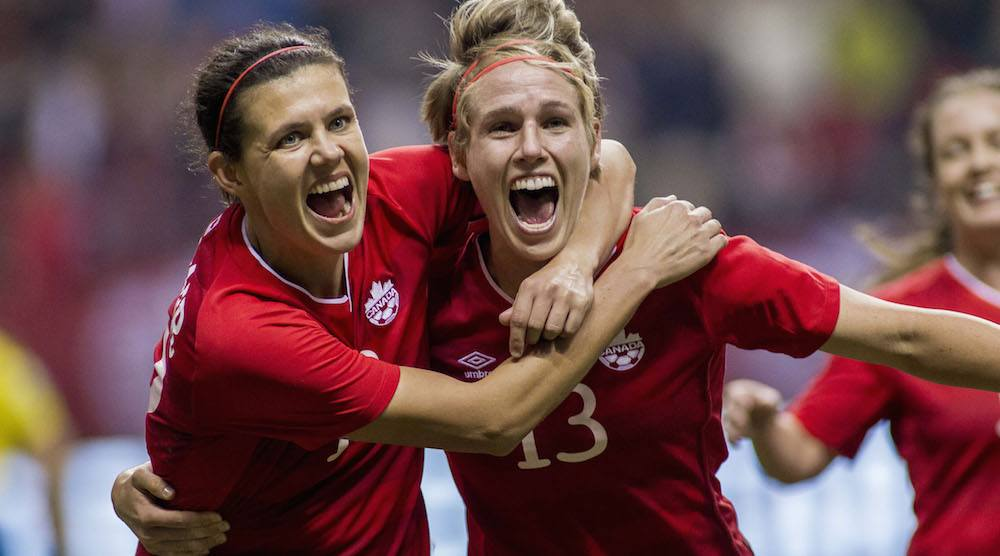 Christine Sinclair, Canadian women begin Olympic soccer tournament today