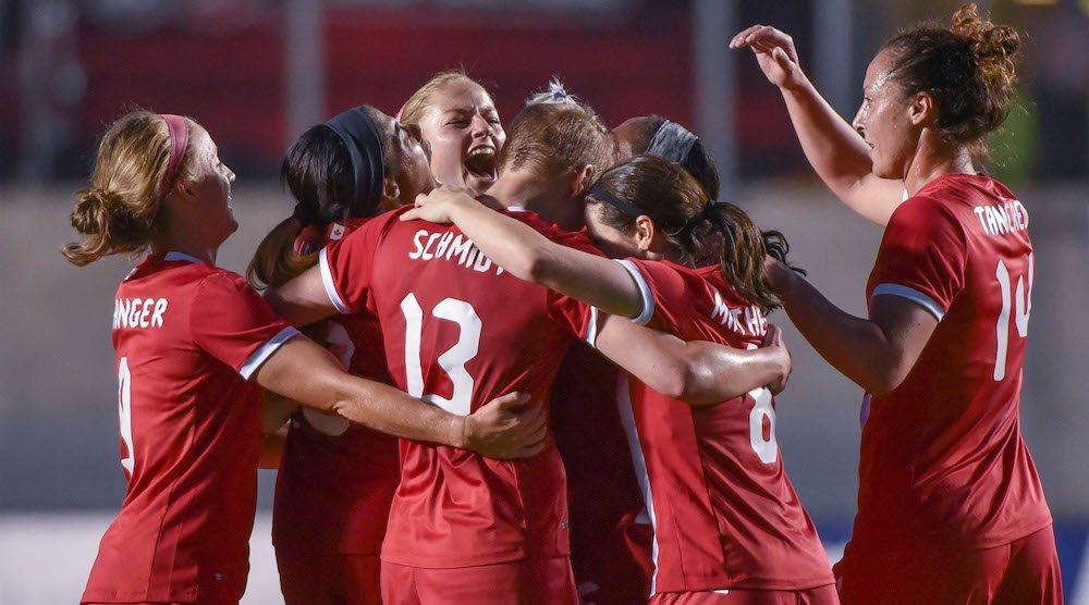 Canada soccer women olympics