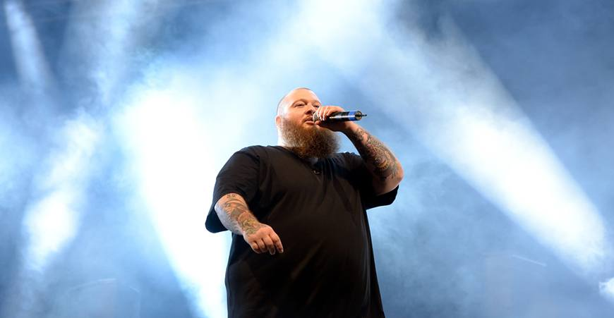Action Bronson Vancouver 2017 concert at the Commodore Ballroom