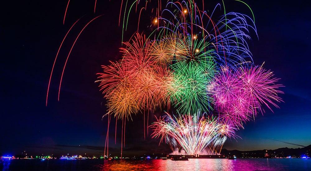 2 drones crash land at Celebration of Light fireworks
