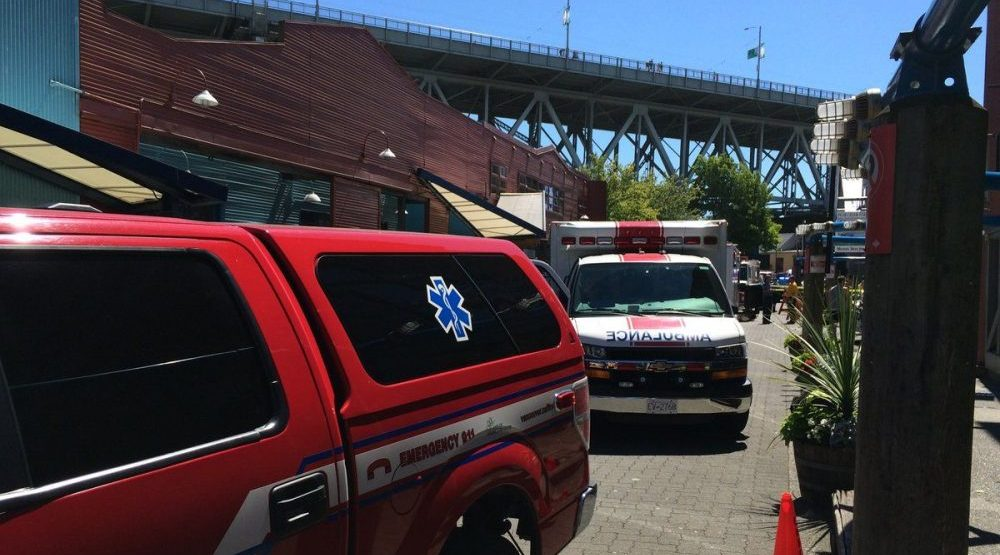 [UPDATED] Police investigating fatal collision on Granville Island