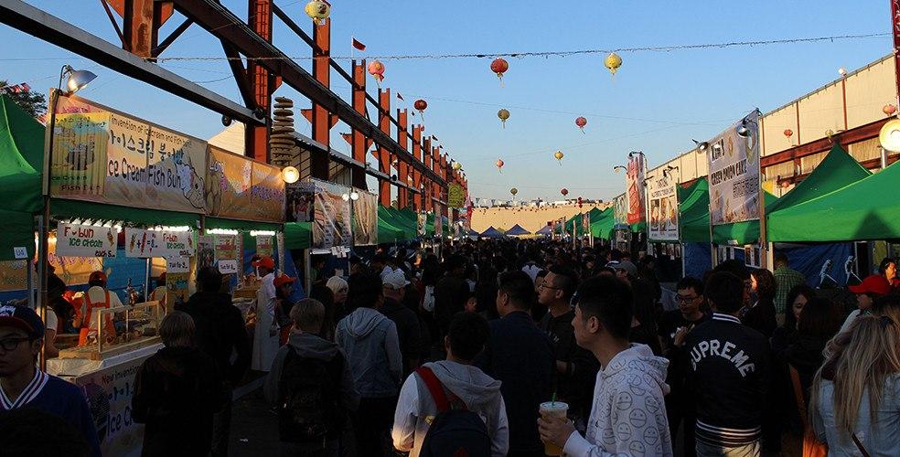 Panda Market a.k.a. International Summer Night Market 2016
