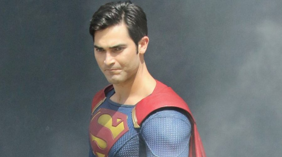First Look: Tyler Hoechlin suits up as Superman for Supergirl shoot in Vancouver (PHOTOS)