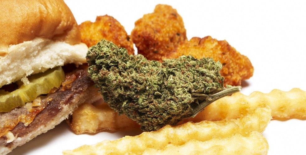 Marijuana munchies