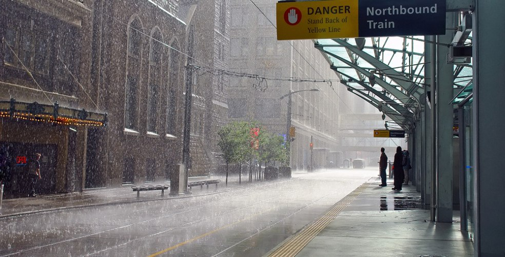 Environment Canada issues rainfall warning for Calgary