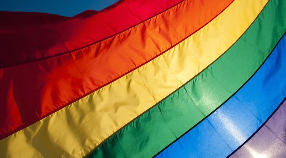 Rainbow flag gay lgbtq