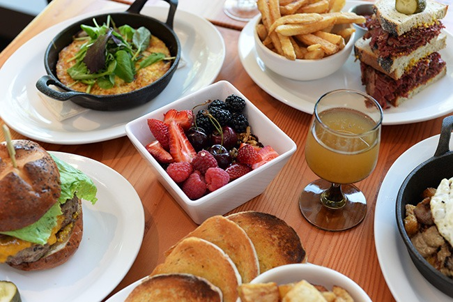 Brunch at Timber (Jess Fleming/Daily Hive)
