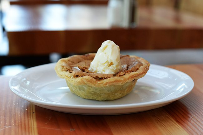 Brown Butter Tart (Jess Fleming/Daily Hive)