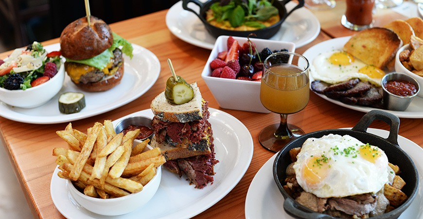 Timber vancouver weekend brunch