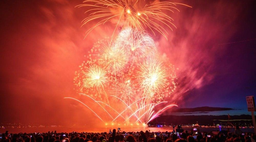 Celebration of light disney vancouver fireworks english bay