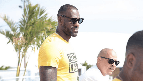 So Lebron James partied in Toronto over Caribana weekend (PHOTOS)
