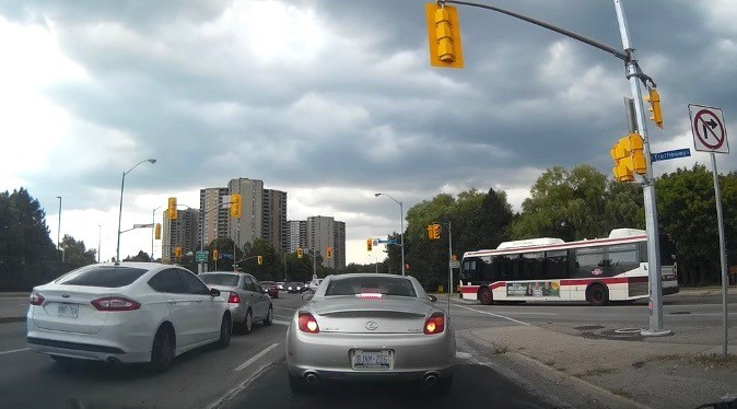 Toronto car crash